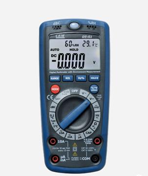 Εικόνα της DT-61 Πολύμετρο με αισθητήρες θερμόμετρο + υγρόμετρο + θόρυβο CEM
