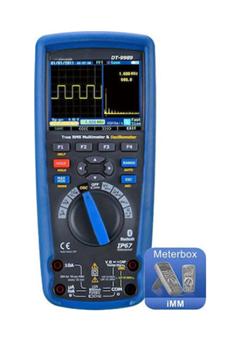 Εικόνα της DT-9989 Πολύμετρο-Παλμογράφος (1000V - 10A) CEM