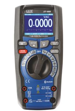 Εικόνα της DT-989 Πολύμετρο-καταγραφικό CEM