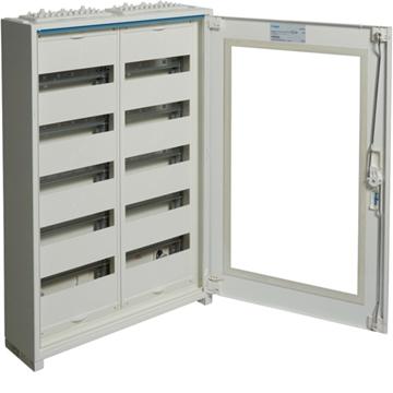 Εικόνα της Ερμάριο Εξωτερικο 2Στ 5X24M Διαφανή Πόρτα Hager FWB52GS