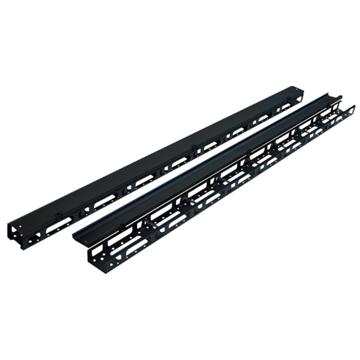 Εικόνα της Rack Cable Manager Καθετο Για Επιδαπεδιο Rack 42U 92X75X1875 Set Safewell