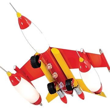 Εικόνα της CL 4312 C-H Φωτιστικό Παιδικό Πολεμικό Αεροπλάνο Μπλέ/Κόκκινο Arlight 0134052