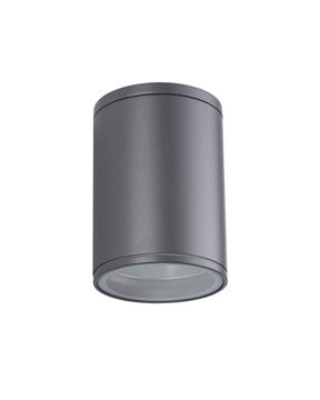Εικόνα της Απλικα Αλουμινιο Οροφης Ανθρακι E27 Max 60W Ip54 Vk/01060/An 75169-198997 VK Lighting 75169-198997