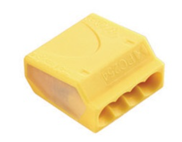 Εικόνα της Τερματικα Καλωδιων 4P 2.5Mm2 Κιτρινο Pc254 Hvp