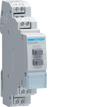 Εικόνα της Χρονοδιακόπτης Bluetooth Πολυλειτουργικός 1 Εξόδου Hager EGN100