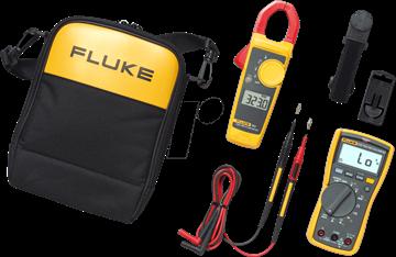Εικόνα της Fluke 117/323 Σετ Ηλεκτρολόγου-Πολύμετρο & Αμπεροτσιμπίδα
