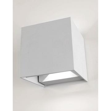 Εικόνα της Φωτιστικό Απλίκα Led Boston Άσπρη 2x3W IP65 4200K 390Lm Lambario