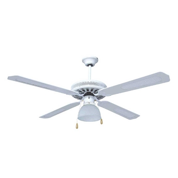 """Εικόνα της Ανεμιστήρας Οροφής 1 Φως Λευκός 70W Φ132cm (52"""") Brand 1138"""