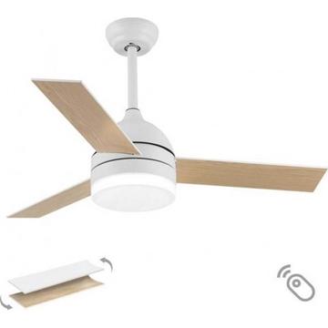 """Εικόνα της Ανεμιστήρας Οροφής Μονόφωτος LED (48"""") 3 Πτερυγίων Με Τηλεχειριστήριο Brand 1166"""