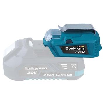 Εικόνα της ΑΝΤΑΠΤΟΡΑΣ USB-ΦΑΚΟΣ 2 IN 1 (032779) BORMANN Pro