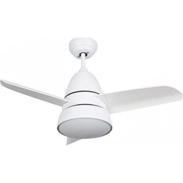"""Εικόνα της Ανεμιστήρας Οροφής & Τηλεχειριστήριο 36"""" LED 18W Λευκός Mistral Lineme 02-00156"""