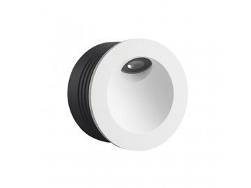 Εικόνα της LED ΦΩΤΙΣΤΙΚΟ ΧΩΝΕΥΤΟ ΕΞΩΤΕΡΙΚΟΥ ΧΩΡΟΥ, 2w, 120lm, 3000K, 220-240V, IP65, Λευκό, Αλουμίνιο, Χωρίς ροοστάτη VK Lighting 75169-322