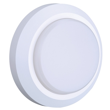 Εικόνα της LED ΦΩΤΙΣΤΙΚΟ ΤΟΙΧΟΥ ΕΞΩΤΕΡΙΚΟΥ ΧΩΡΟΥ, 3w, 190lm, 3000K, 220-240V, IP65, Λευκό, Πλαστικό, Χωρίς ροοστάτη, 1 χρόνο εγγύηση VK Lig
