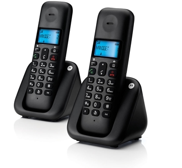 Εικόνα της Motorola T302 (Ελληνικό Μενού) Διπλό ασύρματο τηλέφωνο με ανοιχτή ακρόαση