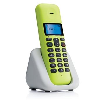 Εικόνα της Motorola T301 Lime Lemon (Ελληνικό Μενού) Ασύρματο τηλέφωνο με ανοιχτή ακρόαση
