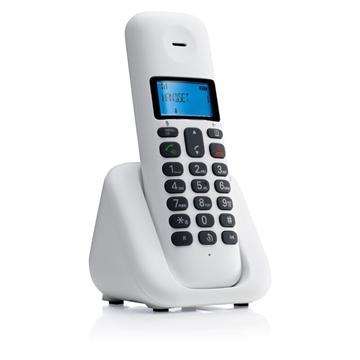 Εικόνα της Motorola T301 White (Ελληνικό Μενού) Ασύρματο τηλέφωνο με ανοιχτή ακρόαση