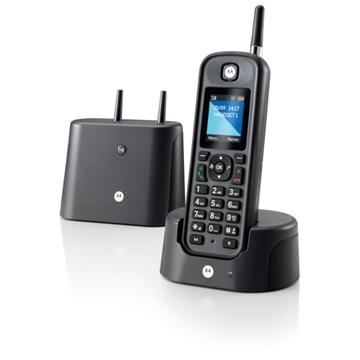 Εικόνα της Motorola O201 Black GR (Ελληνικό Μενού) Αδιάβροχο ασύρματο τηλέφωνο με εμβέλεια έως και 1 km