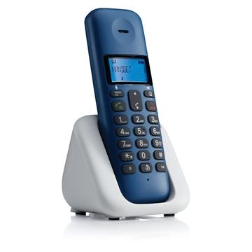 Εικόνα της Motorola T301 Royal Blue (Ελληνικό Μενού) Ασύρματο τηλέφωνο με ανοιχτή ακρόαση