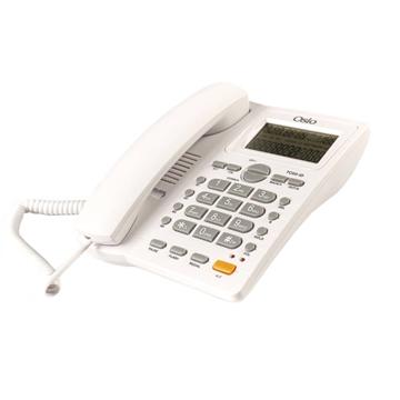 Εικόνα της Osio OSW-4710W Λευκό Ενσύρματο τηλέφωνο με οθόνη