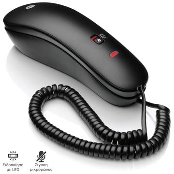 Εικόνα της Motorola CT50 GR Μαύρο Ενσύρματο τηλέφωνο γόνδολα
