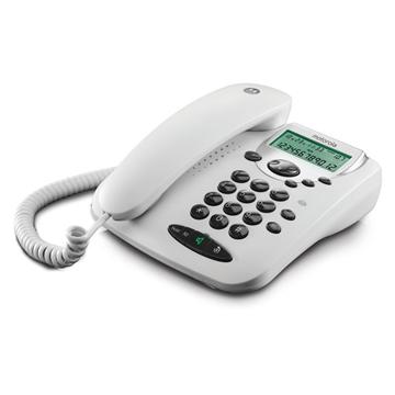 Εικόνα της Motorola CT2W Λευκό Ενσύρματο τηλέφωνο με οθόνη