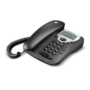 Εικόνα της Motorola CT2 Μαύρο Ενσύρματο τηλέφωνο με οθόνη