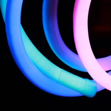 Εικόνα της Ταινία Neon Flex LED RGB 10W/m με το μέτρο IP65 220V Universe PR.5050-80/RGB