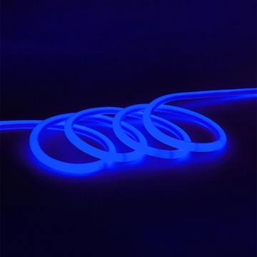 Εικόνα της ROUND NEON FLEX LED ΤΑΙΝΙΑ 10W BLUE 220-240V 900lm 160° IP65 DIMMABLE UNIVERSE