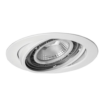 Εικόνα της Σποτ Χωνευτό Οροφής  AR111 12V G53 ΛΕΥΚΟ KT Lighting