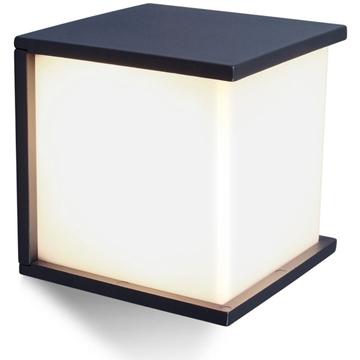 Εικόνα της Φωτιστικο Box Cube Απλικικα 17x17 1xE27 Ανθρακι LUTEC 5184601118