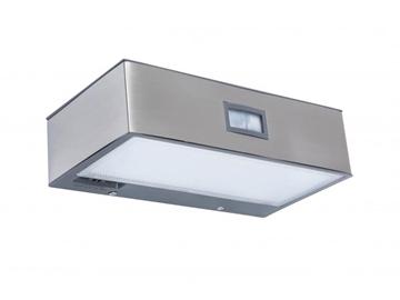 Εικόνα της Φωτιστικο Brick 18x9 Led 1,5W Ηλιακο & Sensor Ασημι LUTEC 6908501308
