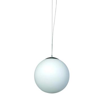 Εικόνα της Κρεμαστο Φωτιστικο Λευκη Μπαλα Inlight 4253-Δ-25cm