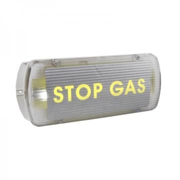 Εικόνα της Bs-527/Wp Στεγανό Εξαρτώμενο Φωτιστικό Σήμανσης Πυρασφάλειας