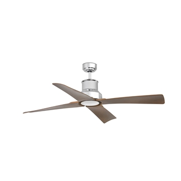 Εικόνα της Ανεμιστήρας Οροφής Winche Χρώμιο χωρίς Φως Smart  Faro 33482WP
