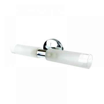 Εικόνα της Επιτοιχο Φωτιστικο Απλικα Μπανιου Χρωμιο με Γυαλια Inlight 1039-ΧΡΩΜΙΟ