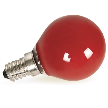 Εικόνα της Λάμπα Σφαιρική 40W Ε14 Κόκκινη 0301185 Leuci
