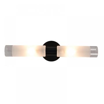 Εικόνα της Επιτοιχο Φωτιστικο Απλίκα Μαυρο με Γυαλια Inlight 1050
