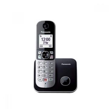 Εικόνα της Ασύρματο Τηλέφωνο KX-TG6811JTB PANASONIC Μαύρο