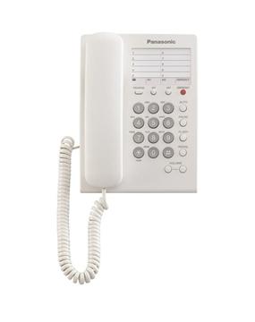 Εικόνα της Τηλεφωνική Συσκευή Ξενοδοχιακού Τύπου Με Emergency Button Panasonic KX-TS550GRW