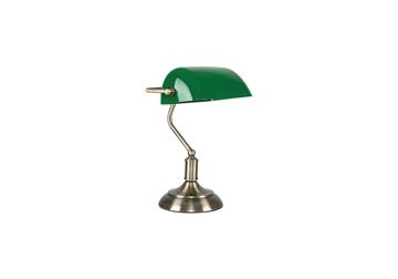 Εικόνα της 879-1T CAMERON, TABLE LAMP WITH GREEN GLASS