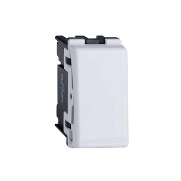 Εικόνα της Μπουτόν Απλό-Κουδούνι 10A Λευκό 1 Βήματος  Lecce Elmark 26005