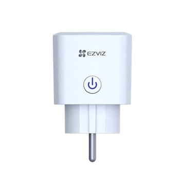 Εικόνα της CS-T30-10A-EU  Πρίζα Λευκή Με Διακόπτη Smart Plug WiFi Ezviz