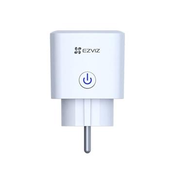 Εικόνα της CS-T30-10B-EU Πρίζα Λευκή Με Διακόπτη Smart Plug WiFi Consumption Monitoring Ezviz