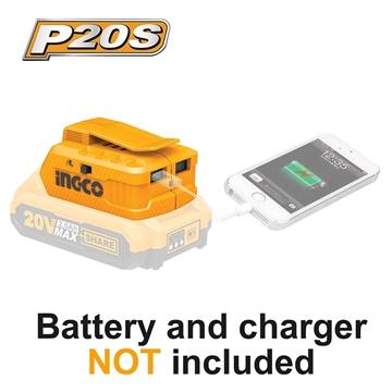 Εικόνα της Ασύρματος Φορτιστής USB-A Li-Ion Powerbank SOLO INGCO CUCLI2001