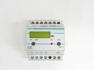Εικόνα της Μετρητής Ενέργειας 3Φ Απλού Τιμολογίου Hager EC320