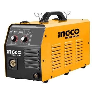Εικόνα της Επαγγελματική Ηλεκτροκόλληση Inverter 200Α Σύρματος με Αέριο και Χωρίς Αέριο INGCO MAG/MIG2006