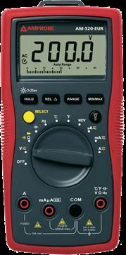 Εικόνα της Amprobe AM-520 Ψηφιακό Πολύμετρο