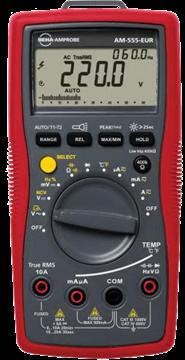 Εικόνα της Amprobe AM-555 True-RMS Ψηφιακό Πολύμετρο